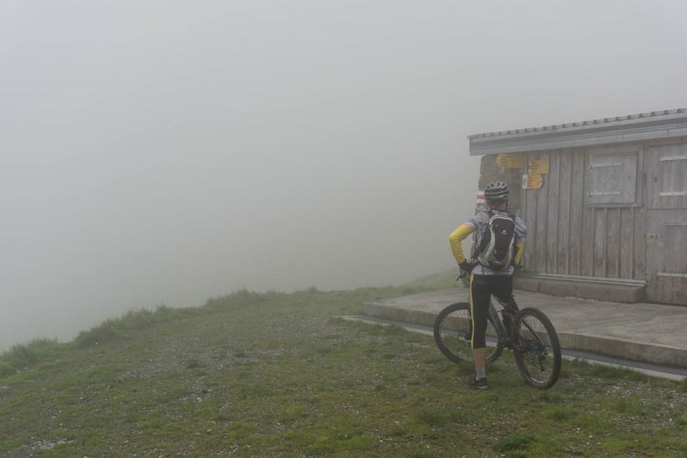 Endstation der Alpstrasse