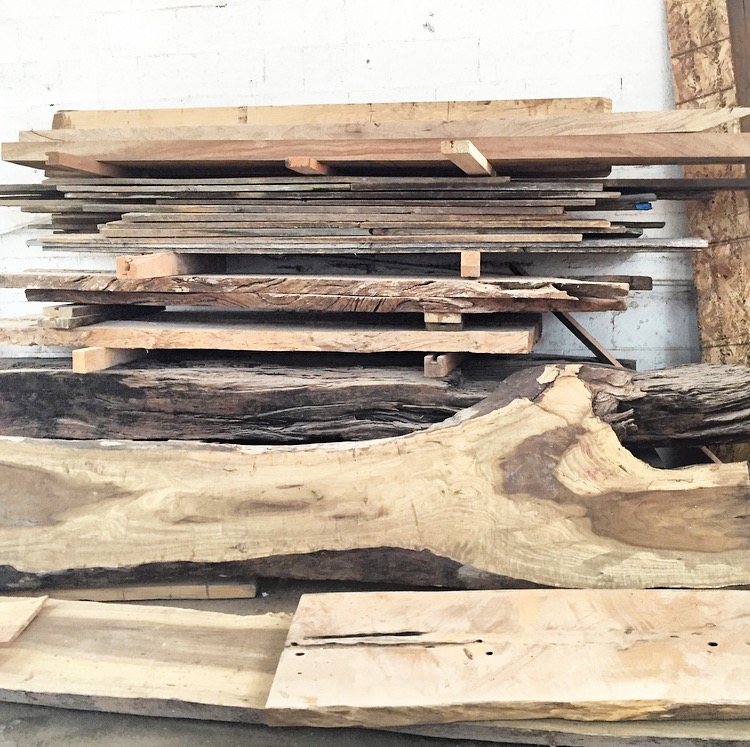 From Fallen Wood to Furniture – The Process
