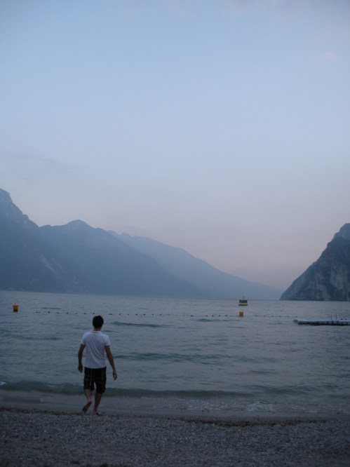 Lake Garda is massive and, according to my Italian friends, fascist