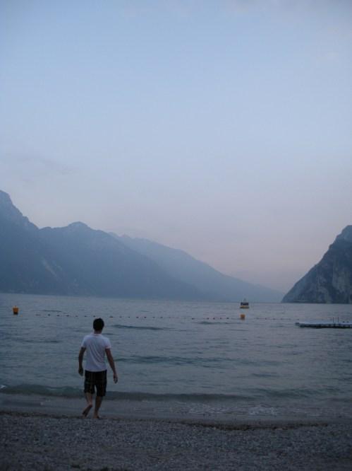 Lake Garda is massive and, according to my Italian friends, fascist