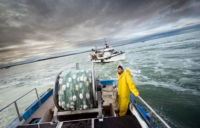 Рыбаки в открытом море