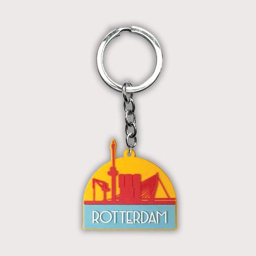 Rotterdamse rubberen sleutelhanger