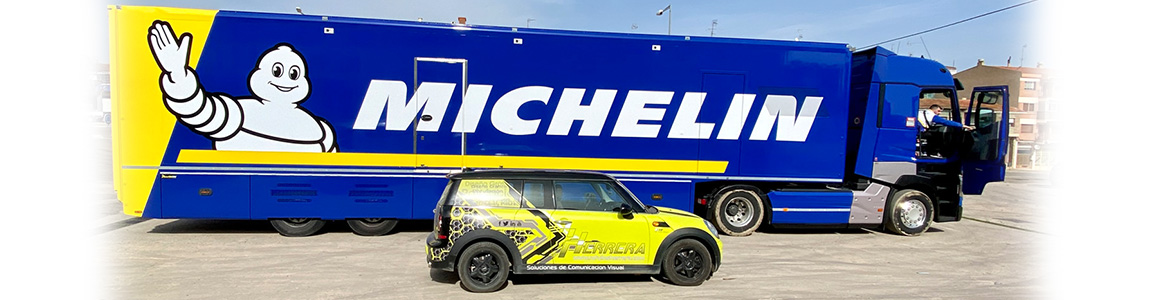 Rotulación Camión Michelin
