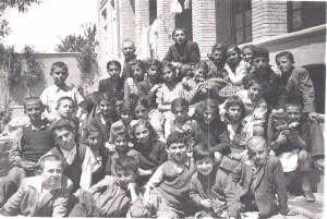 Armenian tuition class, 1948, Tabriz