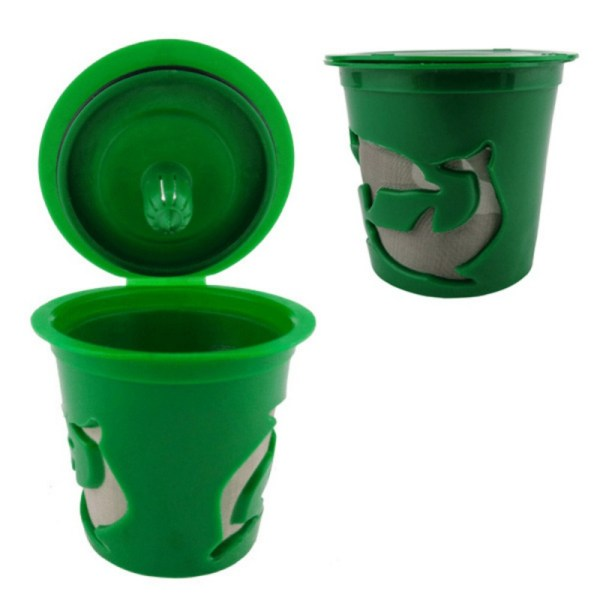 Cups Coffee Filter Keurig -cup Refillable Reusable Hot 2.0 & 1.0