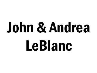 John & Andrea LeBlanc – Traiteur Sponsor