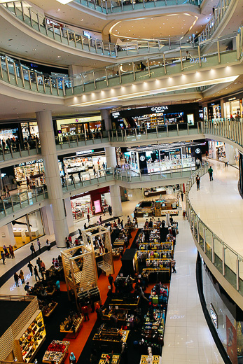 Centre commercial KL Central - Kuala Lumpur