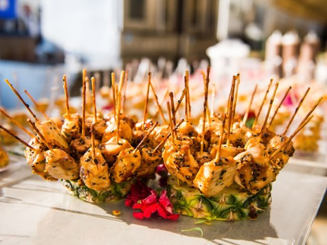 Not you traditional Baltimore Catering, Chicken Satay that your guests are sure to remember