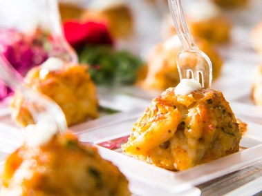Nothing says Baltimore Catering like our Petite Crab Cakes