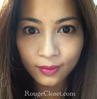 IOPE Color Fit 23 Violet Pink on my lips.