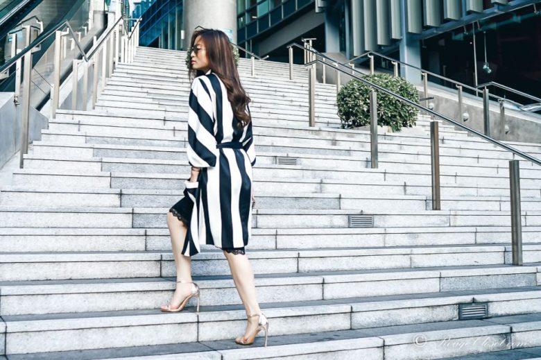 Sarah Lai The Thelma Kimono - The back of the jacket