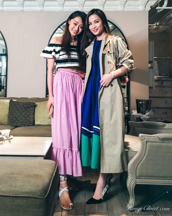 Vincci Yang and Ruby Kwan @rougecloset
