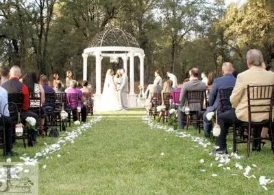 Outdoor wedding Gazebo wedding