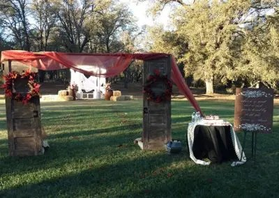 outdoor wedding venue prices come in different packages