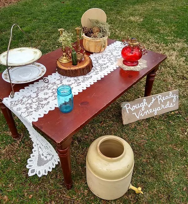 outdoor nature inspired wedding theme ideas