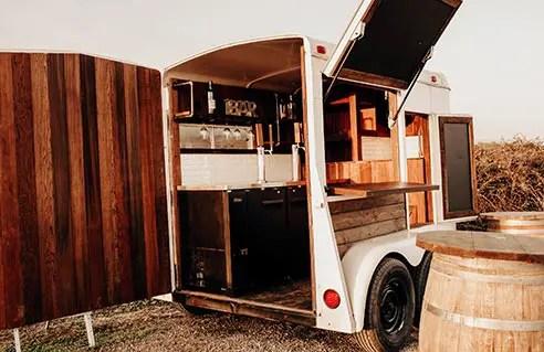The Drunken Burro trailer ready for customers