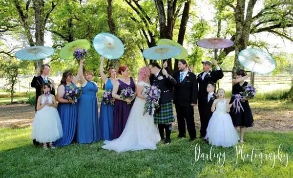 Josh and Bryna's Adventure-Themed Rough & Ready Vineyards Wedding