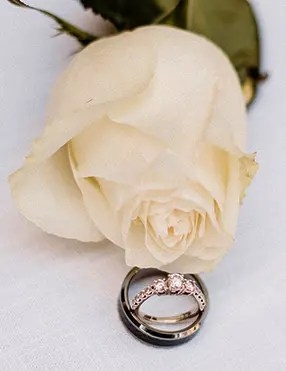 The wedding ring is another one of our commonplace wedding traditions