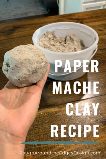 DIY Paper Mache Recipe: How to Make Paper Mache Clay & Paste -