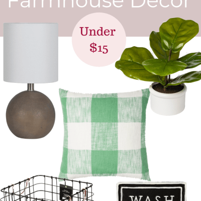 Target Store Finds: Spring 2019 Farmhouse Decor Under 15 Dollars