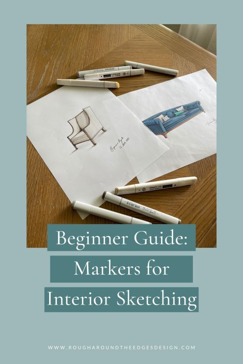 beginners guide: markers for interior sketching