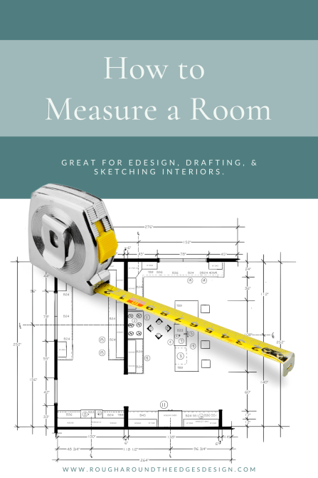 How to measure a room for interior sketching