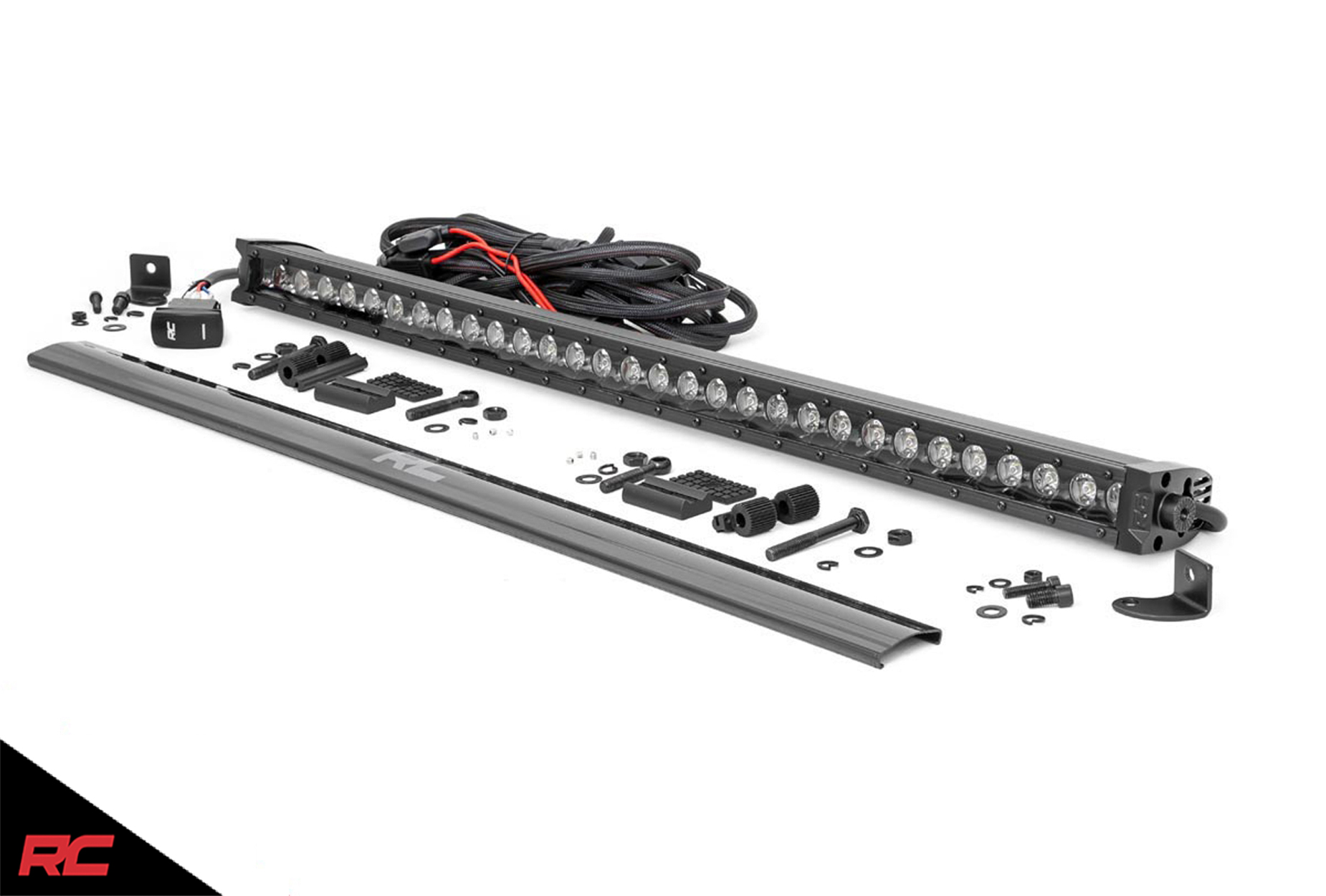 Rough Country 30 Black Series Single Row Cree Led Light