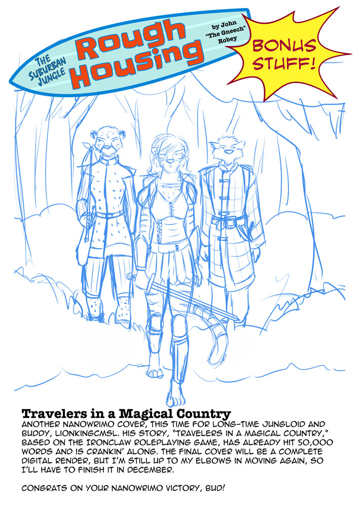 Travelers in a Magical Country, by Don Miller Jr. (cover WIP)