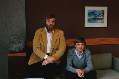 Microsoft Founders Paul Allen and Bill Gates