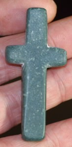 The first green aventuirne crucifix preform