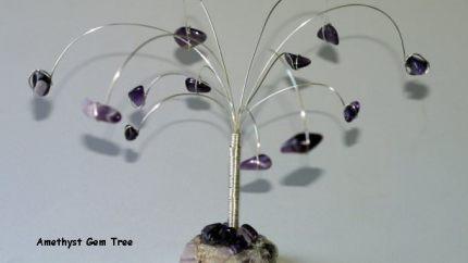 Amethyst Gem Tree