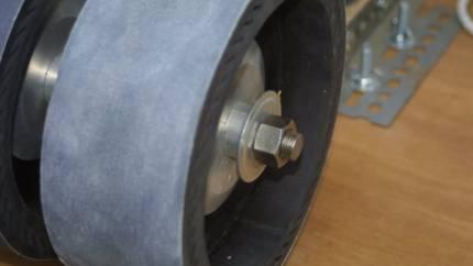Aluminium end spacer tube