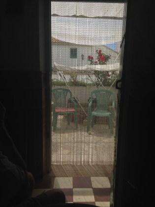 Inside looking outside
