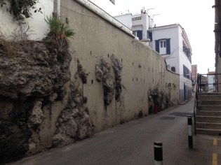 Bits of Rock are all over Gib