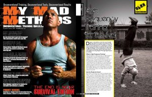 My Article in My Mad Methods Magazine