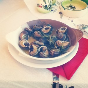 Mountain Snails - traditional Greek meal