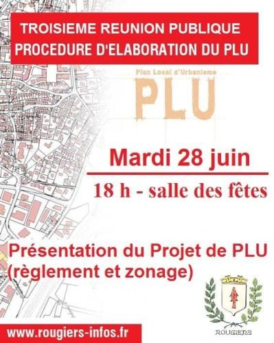 3ème réunion publique PLU
