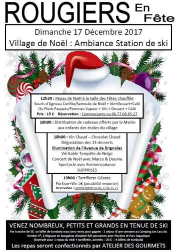 Rougiers en fête - Village de Noël