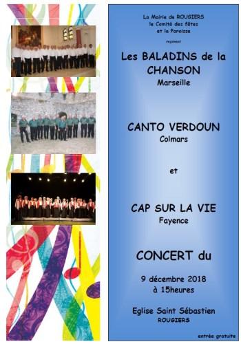 Concert à l'église Saint Sébastien
