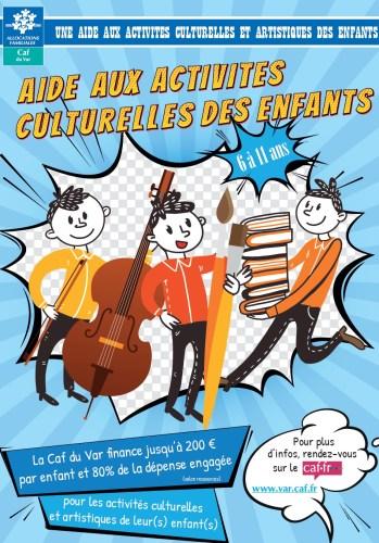 Aides aux activités culturelles des enfants