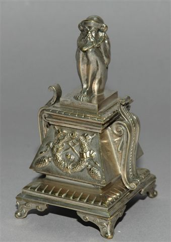 Brosse D'orfèvre En 4 Lettres : brosse, d'orfèvre, lettres, Inkwells, Podevin-Bauduin's, Collection-, Rouillac
