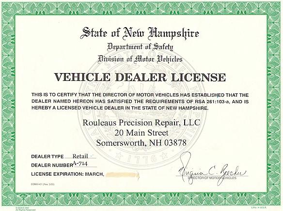 How Obtain Car Dealer License