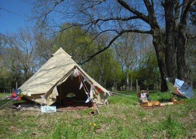 La tente Bele tent et le four solaire Sunplicity