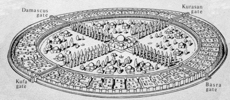Madinat as-Salam: The history of Baghdad's first urban plan - Round City