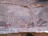 Cave paintings 2,000 - 4000 yrs old in the Drakensberg
