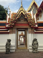 Gate within the gardens of the Grand Palace