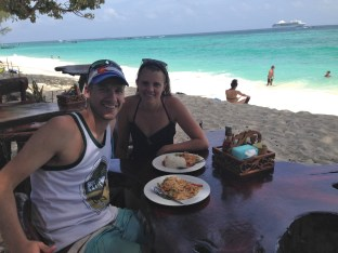 Lunch spot on Long Beach, Koh Phi Phi