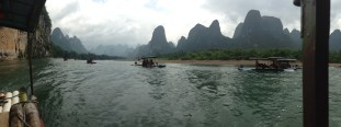Karst mountains along the Li river
