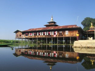 Festival hall along Inle Lake