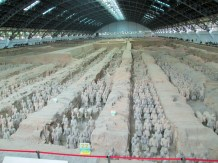 Main excavation pit - aircraft hanger size - huge!
